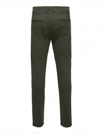 Pantaloni verde foresta Selected Homme