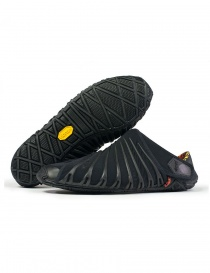 Womens shoes online: Vibram Furoshiki women's black shoes edition 2018