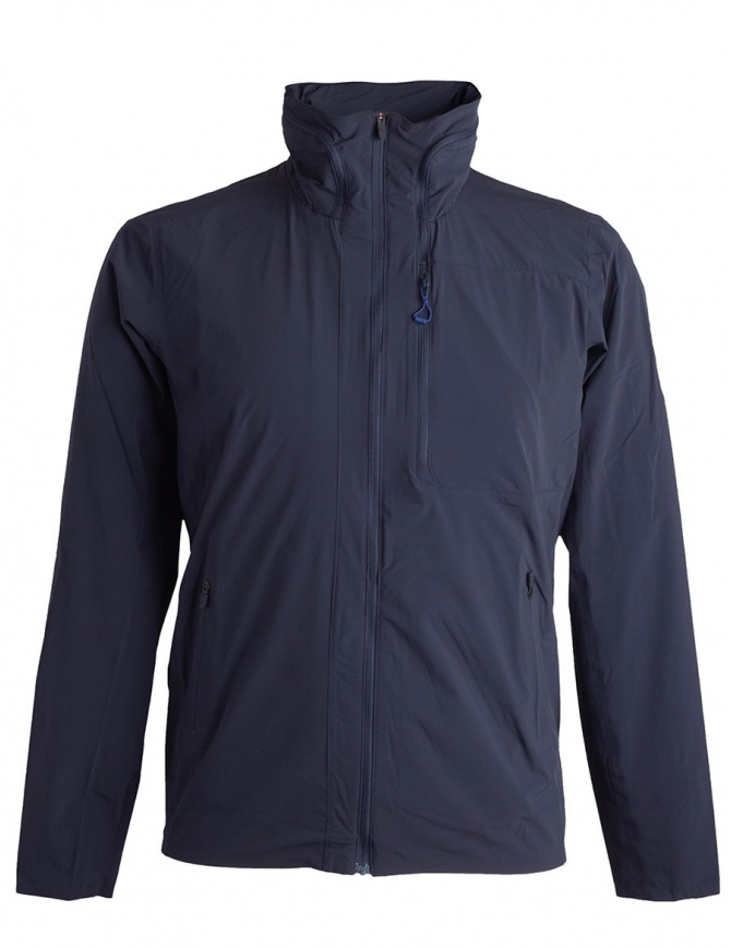Allterrain Stretch packable navy jacket by Descente DAMLGC43U-GRNV mens jackets online shopping