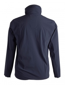 Allterrain Stretch packable navy jacket by Descente buy online