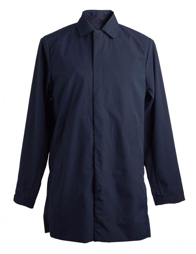 Allterrain by Descente long navy jacket DAMLGC41U GRNV mens jackets online shopping