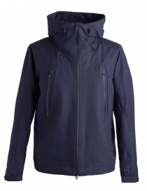 Allterrain active shell blue jacket by Descente DAMLGC36U-GRNV order online