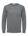 Selected Homme Cashmere medium gray pullover buy online 16059316-Medium-Grey-Melange
