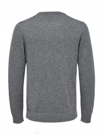 Pullover in cashmere grigio medio Selected Homme