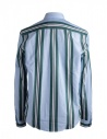 Camicia azzurra a righe verdi Golden Gooseshop online camicie uomo