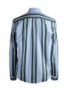 Golden Goose pale blue shirt with green stripes shop online mens shirts