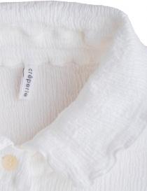 Crêperie white long dress womens dresses buy online