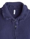 Crêperie long buttoned blue dress TC05FH505 BLU price