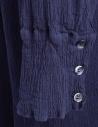 Crêperie long buttoned blue dress price TC05FH505 BLU shop online