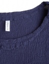 Crêperie dark blue sweater with wrinkles effect TC87-FN503 BLUE price