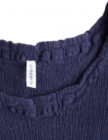 Crêperie blue top in crepe fabric price