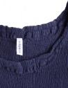 Crêperie blue top in crêpe fabric TC05FE501 BLU price