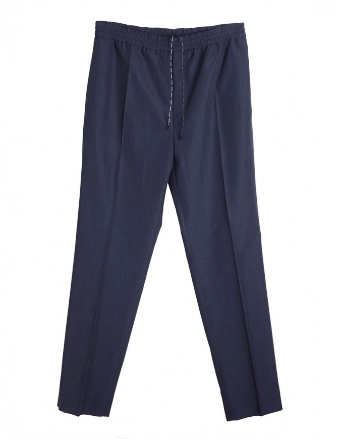 Pantaloni lunghi navy Golden Goose Deluxe Brand G32MP511.A2 NAVY pantaloni uomo online shopping