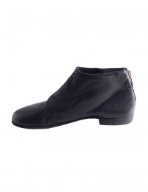 Guidi black leather ankle shoes with zip ZO04S price
