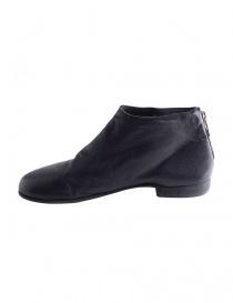 Scarpe in pelle nera con zip Guidi ZO04S prezzo