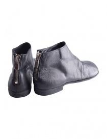 Scarpe in pelle nera con zip Guidi ZO04S acquista online