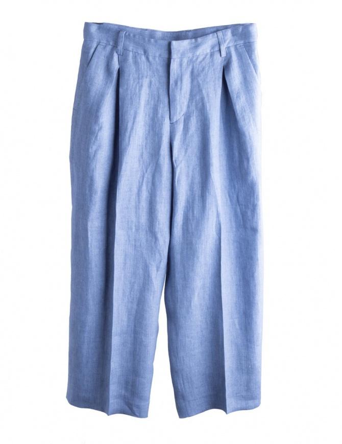 Pantaloni palazzo azzurri Cellar Door BIANCA A209 COL. 53 pantaloni donna online shopping