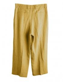 Pantaloni giallo senape a palazzo Cellar Door acquista online