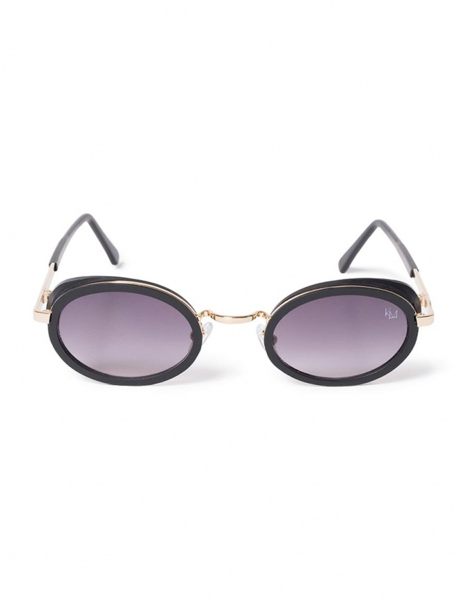 Kyro McKay sunglasses with gold border Luxemburg model LUXEMBOURG C1 glasses online shopping