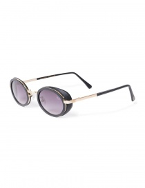 Kyro McKay sunglasses with gold border Luxemburg model