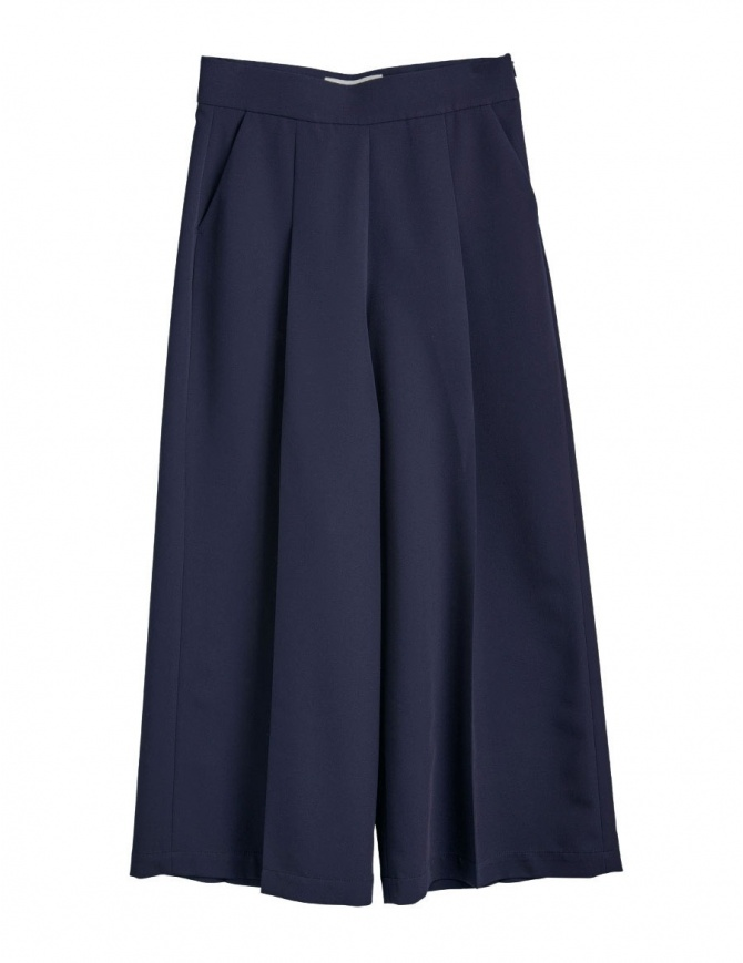 Cellar Door blue palazzo pants ASIA A169 COL. 65 womens trousers online shopping