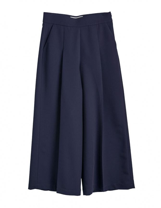 Pantaloni palazzo blu Cellar Door ASIA A169 COL. 65 pantaloni donna online shopping