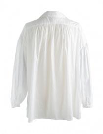 Camicia bianca Kapital con rouches