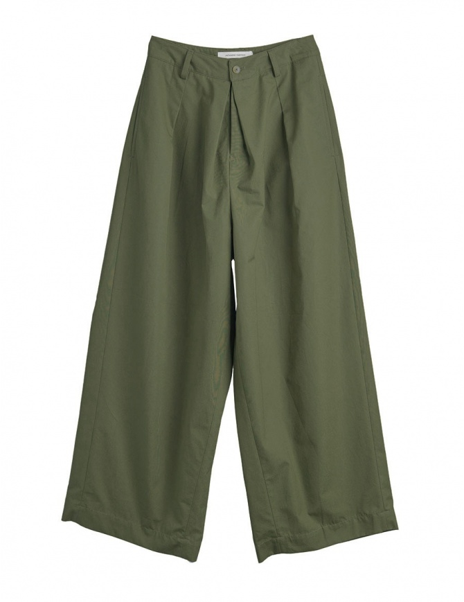 Pantaloni verde militare Cellar Door modello a rondine RONDINE A222 COL. 78 pantaloni donna online shopping