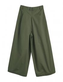 Pantaloni verde militare Cellar Door modello a rondine