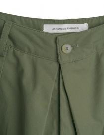 Pantaloni verde militare Cellar Door modello a rondine prezzo