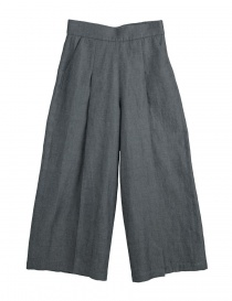 Womens trousers online: Cellar Door grey palazzo pants Asia