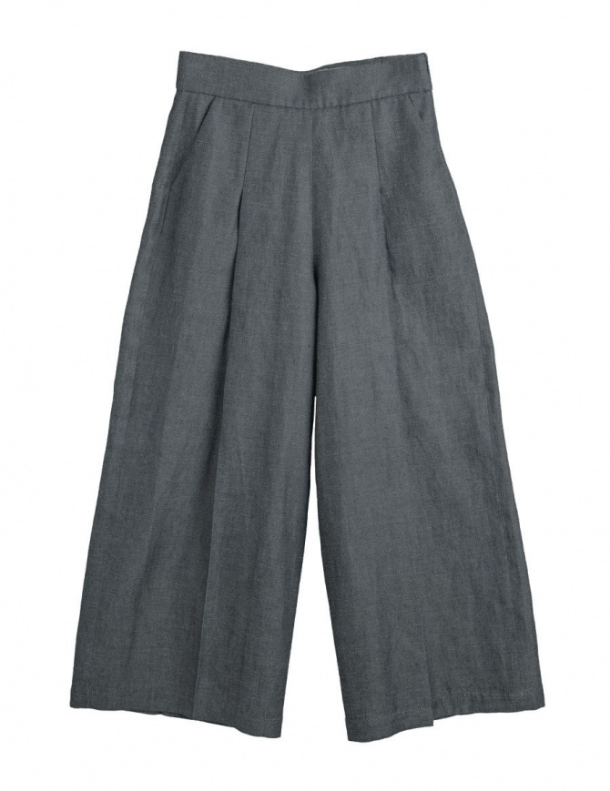 Cellar Door grey palazzo pants Asia ASIA A213 COL. 99 womens trousers online shopping