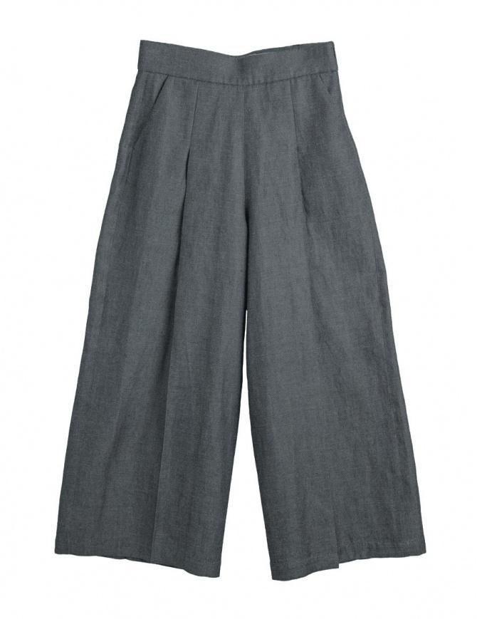 Pantaloni palazzo grigi Cellar Door Asia ASIA A213 COL. 99 pantaloni donna online shopping