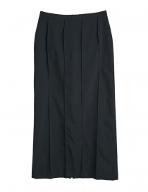 Black Cellar Door skirt with finished seams online