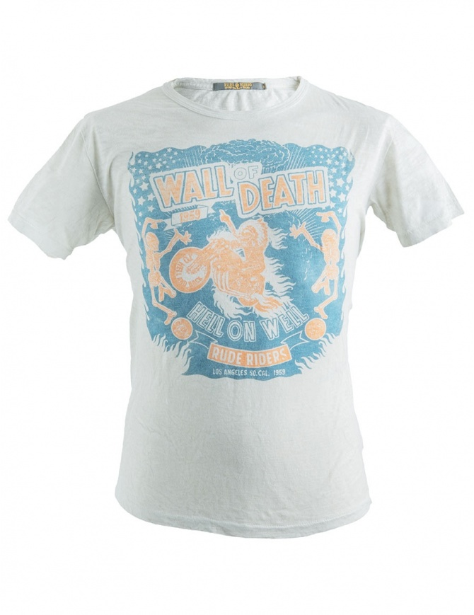 Rude Riders Wall of Death T-Shirt R01036 col. 84025 mens t shirts online shopping
