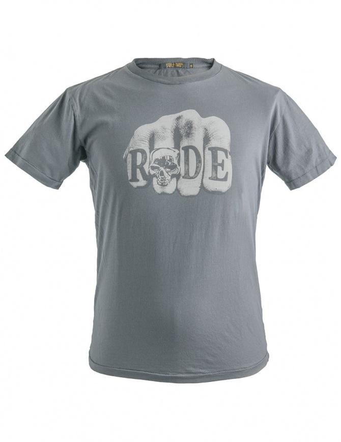 T-Shirt Stampa Pugno R.U.D.E. Rude Riders R01058 col. 22176 t shirt uomo online shopping