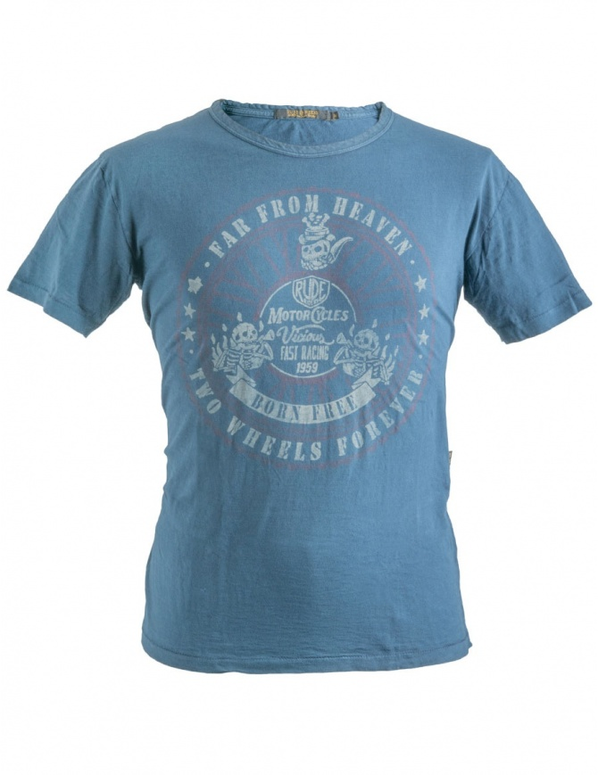 Rude Riders Blue Far From Heaven T-Shirt R01034 col. 54529 mens t shirts online shopping