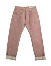 Rust color Kapital jeans NKSSLP024 DENIM BROWN