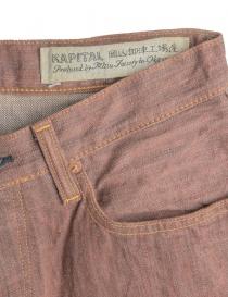Jeans Kapital color ruggine prezzo