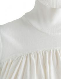 Blusa Kapital bianca con collo alto prezzo