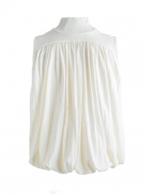 Blusa Kapital bianca con collo alto