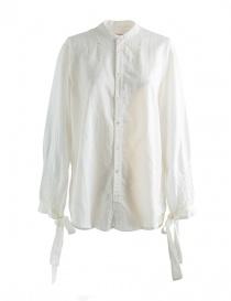 Camicie donna online: Camicia bianca Kapital con nastri