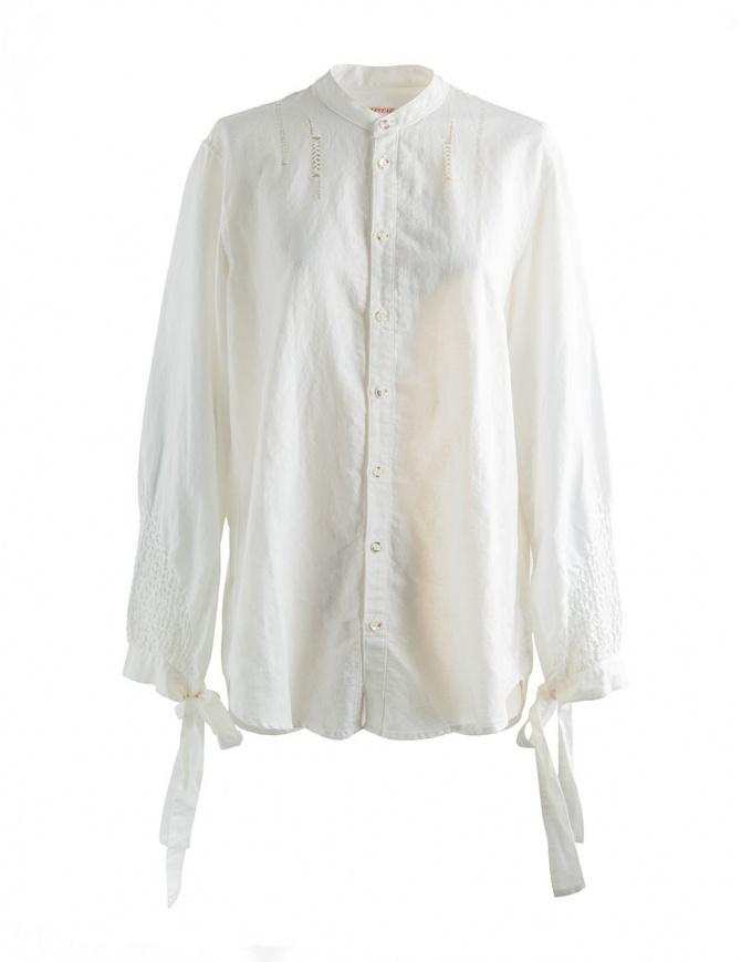 White Kapital shirt with ribbons K1708LS029 womens shirts online shopping