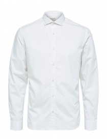 Mens shirts online: Selected Homme white shirt