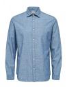 Camicia azzurro spento Selected Homme acquista online 16062783 SLHREGGUNNAR SHIRT