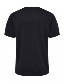 T-shirt nera Selected Homme con scritta