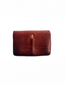 Guidi EN01 red horse leather coin purse
