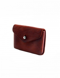 Guidi EN01 red horse leather coin purse price