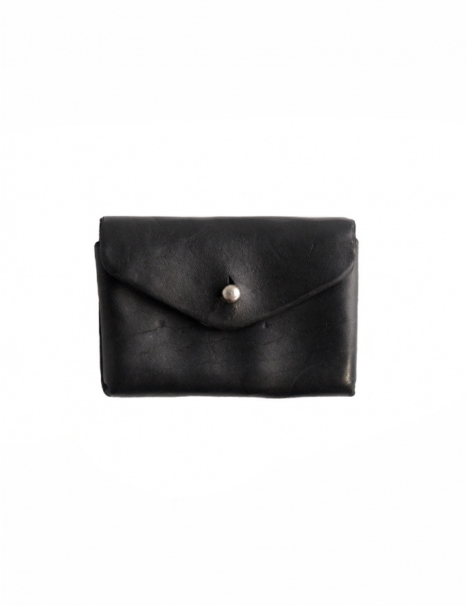 Guidi EN01 black horse leather coin purse EN01 HORSE-FG CV39T wallets online shopping
