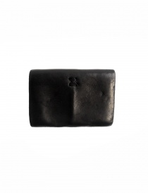 Guidi EN01 black horse leather coin purse